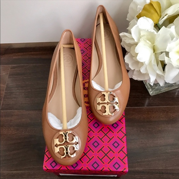 NWT Tory Burch Claire Ballet Flats